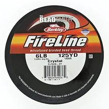FireLine Braided Beading Thread 6 pound-test Clear .006 Inch Average Dia... - $20.63