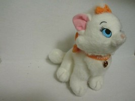 Disney White Marie Cat Plush Stuffed Animal Aristocats November Birthsto... - $8.86