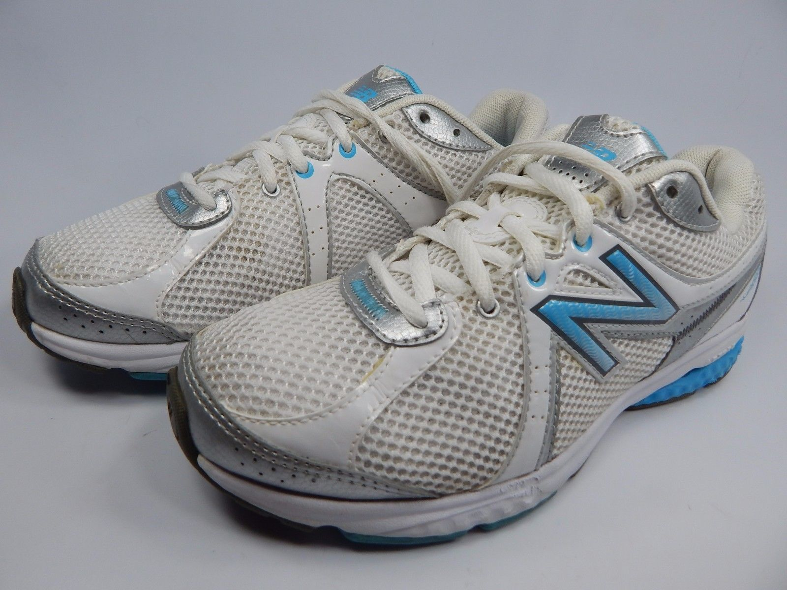 New Balance 665 Women's Walking Shoes Size US 8 D WIDE EU 39 White WW665WB