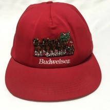 fdf5704e VTG Budweiser Baseball Cap Hat Clydesdale Embroidered 90s Snapback Made in  USA - $19.34