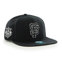 new products 6d13d 83275 San Francisco Giants MLB Black Sure Shot 47 Brand Captain Wool Snapback Hat  -  27.72