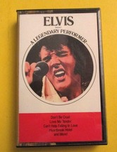 Elvis A Legendary Performer audio cassette Elvis Presley Love Me Tender - $6.99
