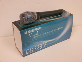 DSR87A Cardioid Condenser Vocal Recording Microphone by DSR Pro - $43.20