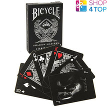 Bicycle Shadow Masters Legacy Ellusionist Playing Cards Deck Magic Tricks New - $21.28