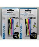 Nite Ize Gear Tie Cordable The Original Reusable Rubber Twist Tie 3-in (... - $9.74