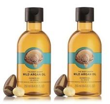 The Body Shop Wild Argan Oil Shower Gel,250 ml (pack of 2) free shipping world - $32.13