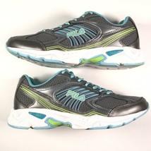 Fila Women's Size 8.5 Inspell Running Athletic Shoes EUC Gray Blue Green - €29,48 EUR