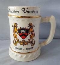 Princeton Università Edward J.Cooper Boccale Birra Tazza da Collezione L... - $76.66