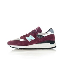 MEN'S NEW BALANCE LIFESTYLE M998AWC SNEAKERS  BORDEAUX - $262.99