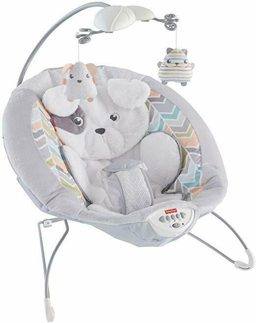 Infant Deluxe Bouncer Sleeping Newborn Calming Vibration Seat w/ Mobile Seat NEW - $80.72