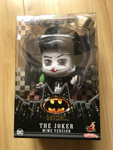 Hot Toys Cosbaby 1989 Batman Movie The Joker Mime Version Action Figure  - $38.00