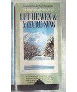 Let Heaven and Nature Sing [VHS] [VHS Tape] - $4.95