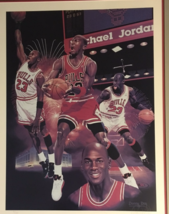 Michael Jordan by Danny Day; Signed by Basketball Star!  signed - $5,500.00