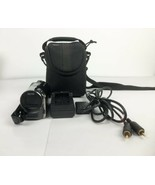 Panasonic SDR S50 Digital 78x Zoom Camcorder Camera Battery Charger Case - $78.20