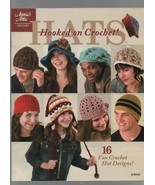 Hats: Hooked on Crochet! ~ Annie's Attic - 878545 - 16 Fun Crochet Hat D... - $4.31