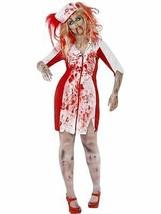 Curvas Zombie Disfraz de Enfermera, GB 24-26, Halloween Zombi Callejón D... - $29.88