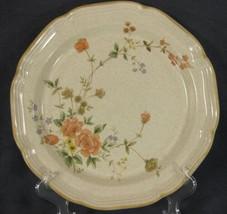 Mikasa Garden Club Silk Bouquet EC463 Dinner Plates Flowers Floral  - $18.95