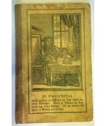 1842 antique GERMAN ABC,ALPHABET CHILD BOOK w/ENGRAVINGS~DR. MARTIN LUTHER - $87.95