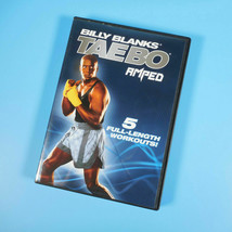 Billy Blanks Taebo Amped 5 Workouts DVD Fitness Training 4-Disc Set - $8.55