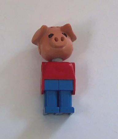 Vintage Lego Figures Set of Six