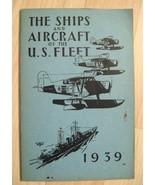 Las Naves & Avión E. U. Fleet Libro - Vintage 1939 Militar Avión James C... - $39.59