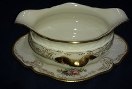 Rosenthal DIPLOMAT Gravy Boat with Underplate Old Backstamp mint perfect... - $66.48