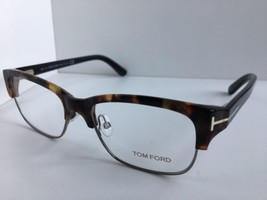 Neuf Tom Ford Tf 5307 TF5307 055 52mm Clubmaster Tortue Lunettes Cadre Italie - $124.99