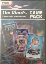 NEW Giants Game Pack: Hotel Giant, Traffic Giant & Transport Giant PC DVD - $4.80
