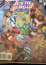 1994 JUSTICE LEAGUE INTERNATIONAL #60 Sealed In Plastic With Backboard - $5.94