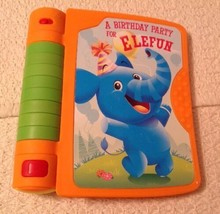 Playskool Learnimals Magic Motion Book Toy - A Birthday Party for Elefun... - $6.18