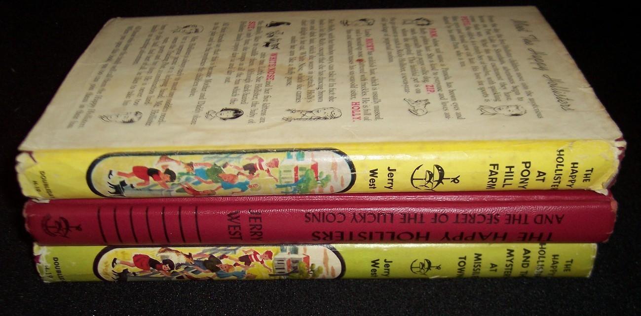 The Happy Hollisters Lot of 3 Series Books HC/DJ