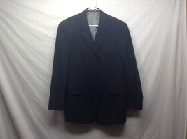 J. Ferrar Black Wool Suit Jacket