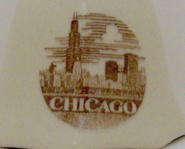 Decorative Collectible Souvenir Bell from Chicago