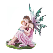 Small Fairy Figurines Fairy Figurines Collectible Tiny Motherhood Fairy ... - $48.69