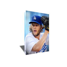 Los Angeles Dodgers Ace Clayton Kershaw Poster Photo Painting On Canvas Wall Art - $33.75+