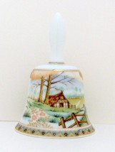 Decorative Collectible Porcelain Bell by Hizan, Japan - $4.00