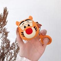 Cute Funny Tiger Cartoon Apple AirPod Case Wireless Earphone Cover Kawai... - $7.94 CAD