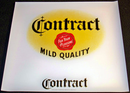 Contract Embossed Inner Cigar Label, 1940's - $1.99