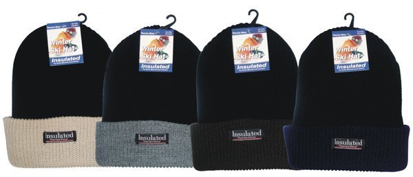 Case of [144] Insulated Winter Ski Hats