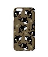 Marine Whale Printed Lightweight Hardshell Case for Apple iPhone 6 Plus/... - $19.99