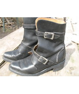 Womens Harley Davidson Italy Black Leather buck... - $60.00