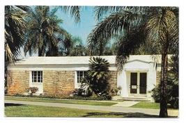 FL Montgomery Museum Fairchild Gardens Coral Gables Florida Vintage Post... - $4.99