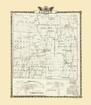 Jasper County Illinois  - Warner 1876 - 23.00 x 26.59 - $36.58+