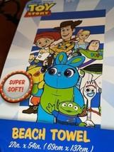 """TOY STORY  DISNEY ORIGINAL BEACH TOWEL EXTRA SOFT (27""""x54"""") 100% COTTON - $22.76"""