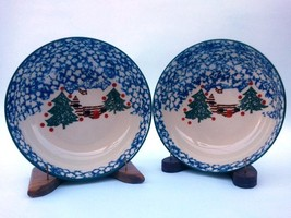 Tienshan Cabin in the Snow Bowls Set of 2 - $19.95
