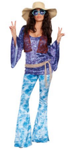 Wild At Woodstock 60s Costume - Women's - $38.95