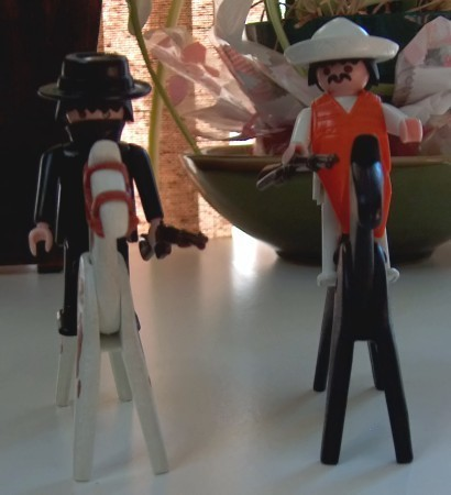 Playmobil Western Bandits Part of Set 3748