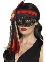 Baile de Máscaras Pirata Antifaz, Cosméticos y Disfraces, Negro - $13.95 CAD