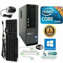 Dell Pc Desktop Intel i7 4770 3.40g 16GB New 1TB Ssd Windows 10 Hdmi - $570.54