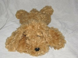 Ty Classic Brown Dog Named Baylee From 2017 Tan Golden Shaggy Furry Bean... - $59.39